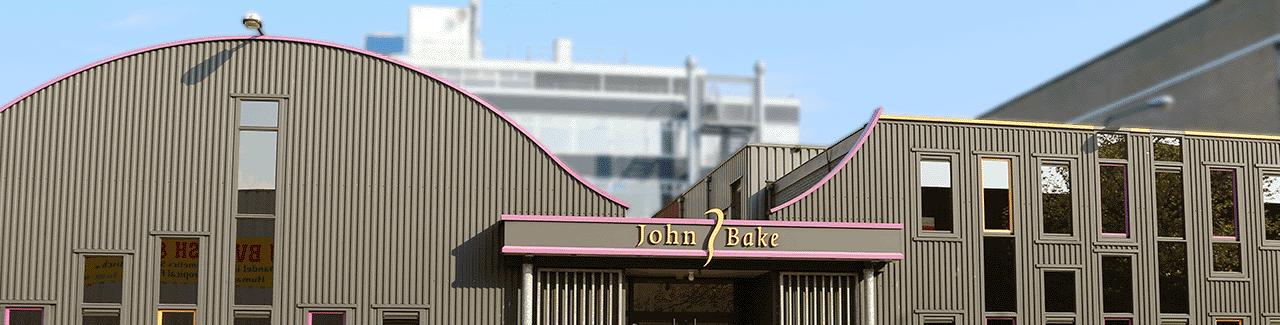 John Bake voorkant pand